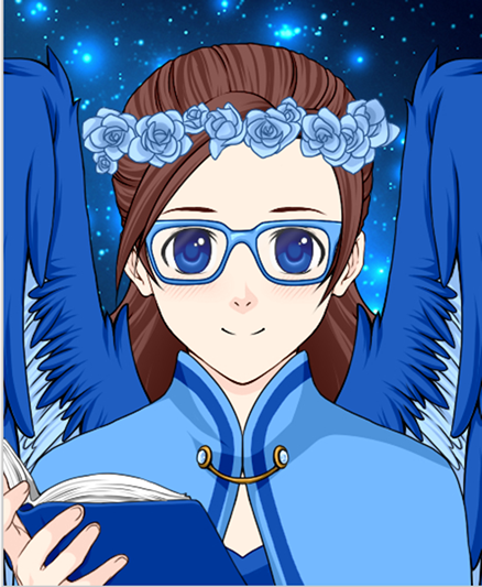 I used Rinmaru anime avatar creator to make this. it's a