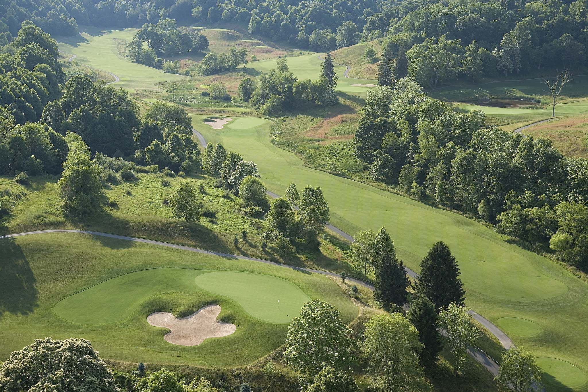Golfing in the Mountains   Stonewall Resort