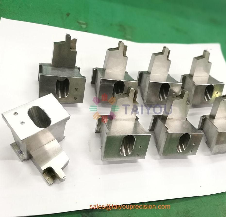 Almost finished mold inserts! We offer cnc lathe cnc milling