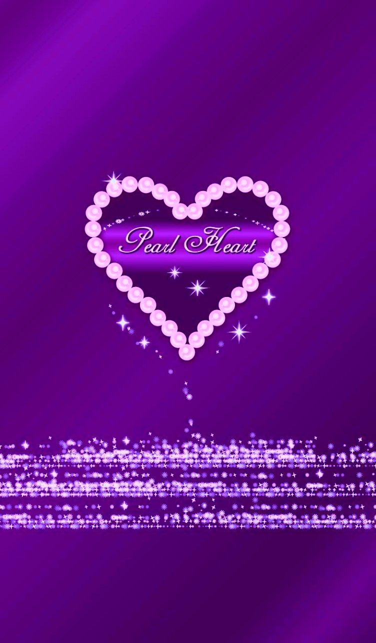 Pin By Crystal Boles On All Things Purple Heart Wallpaper