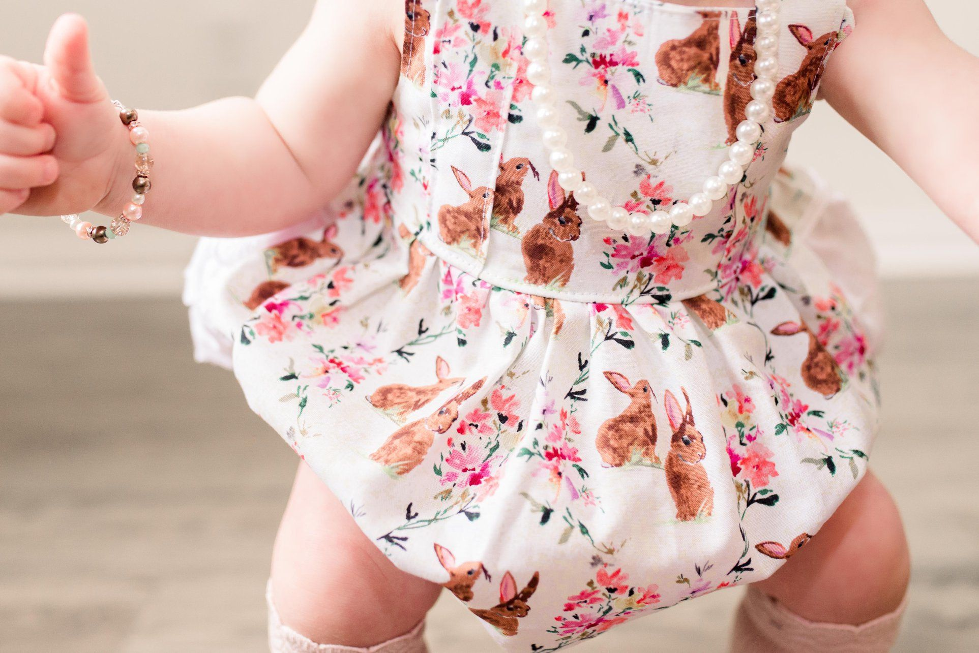 Birthday Bubble Romper| Horse Romper Pink Horse Baby Toddler Dress Romper Birthday Toddler Girl Photo Outfit Horse floral