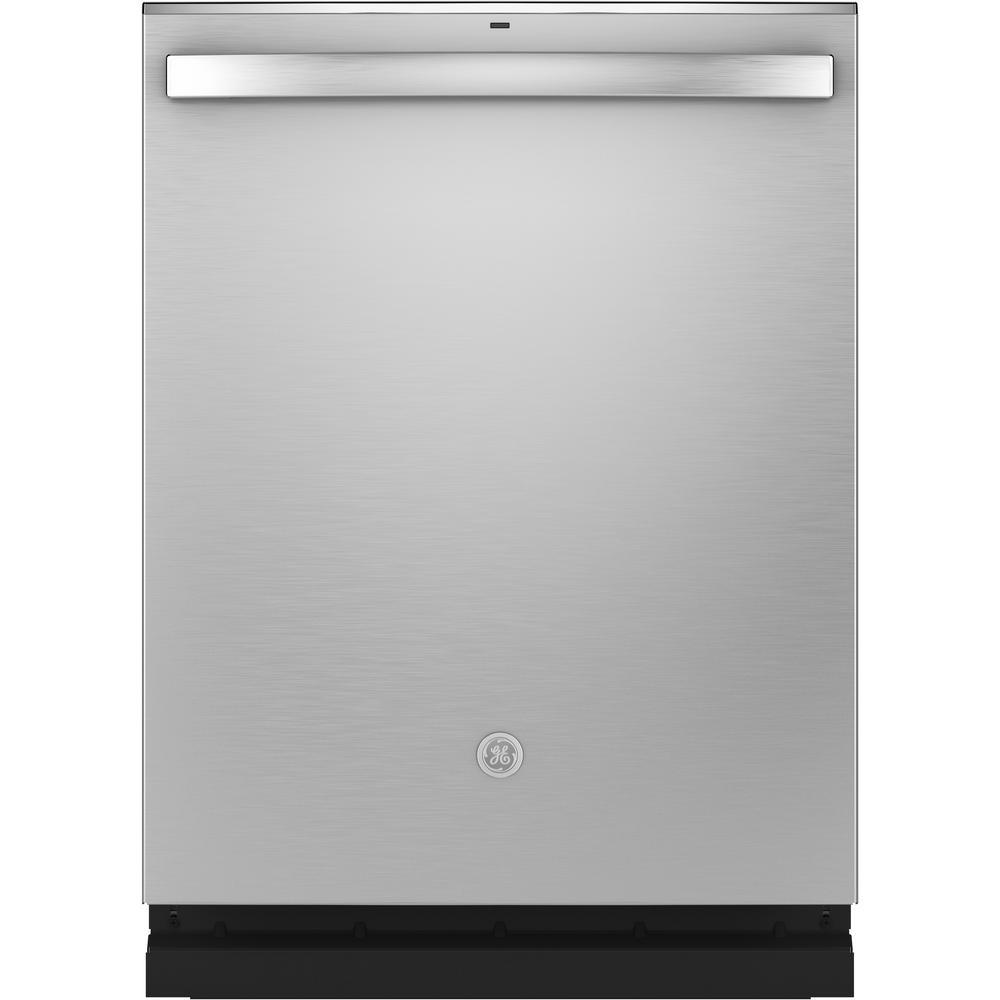 Ge Adora Top Control Tall Tub Dishwasher In Stainless Steel With Stainless Steel Tub And Steam Cleaning 48 Dba Ddt700ssnss The Home Depot Built In Dishwasher Steel Tub Stainless Steel Dishwasher