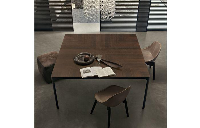 Tavolo Rimadesio ~ Rimadesio table flat cm chêne thermotraité intra muros