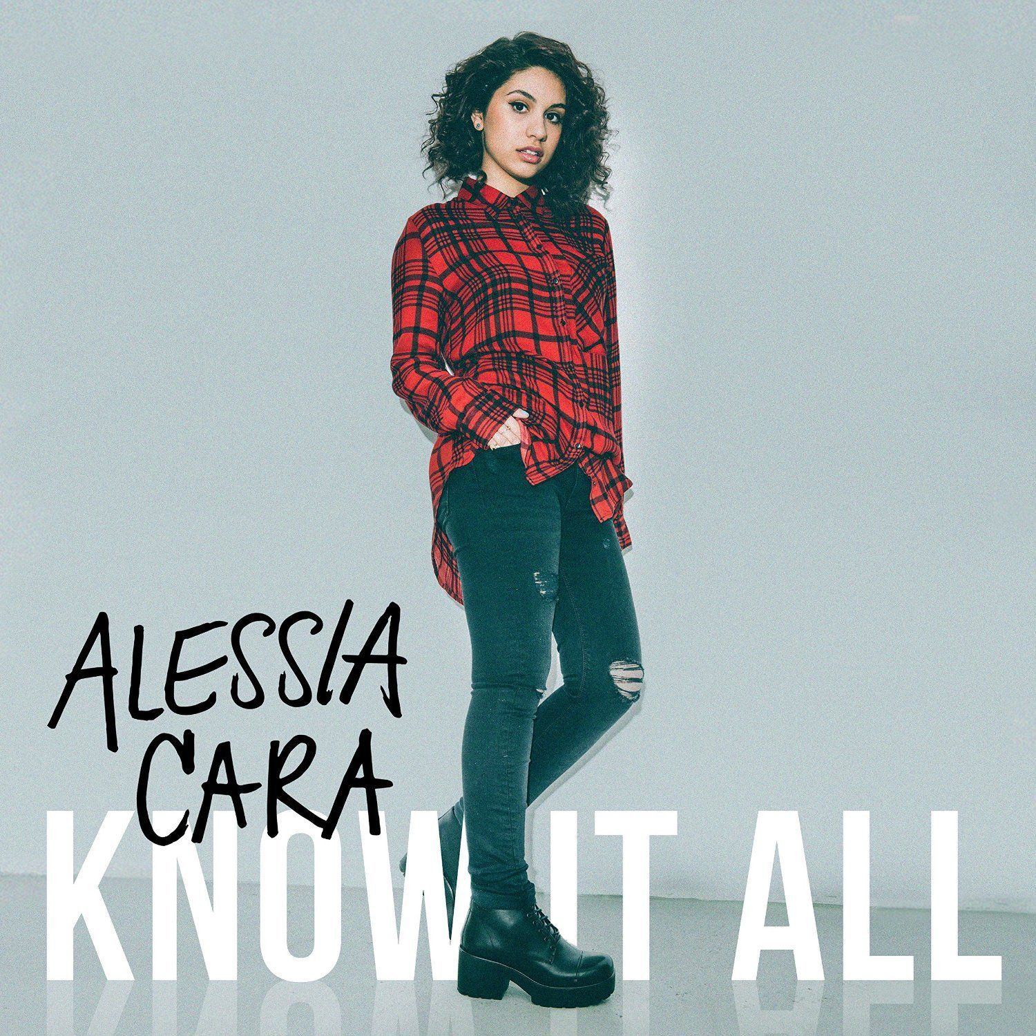"""Know-It-All - Alessia Cara // featuring the smash hit """"Here."""" #PublicLibraryOfBrookline"""
