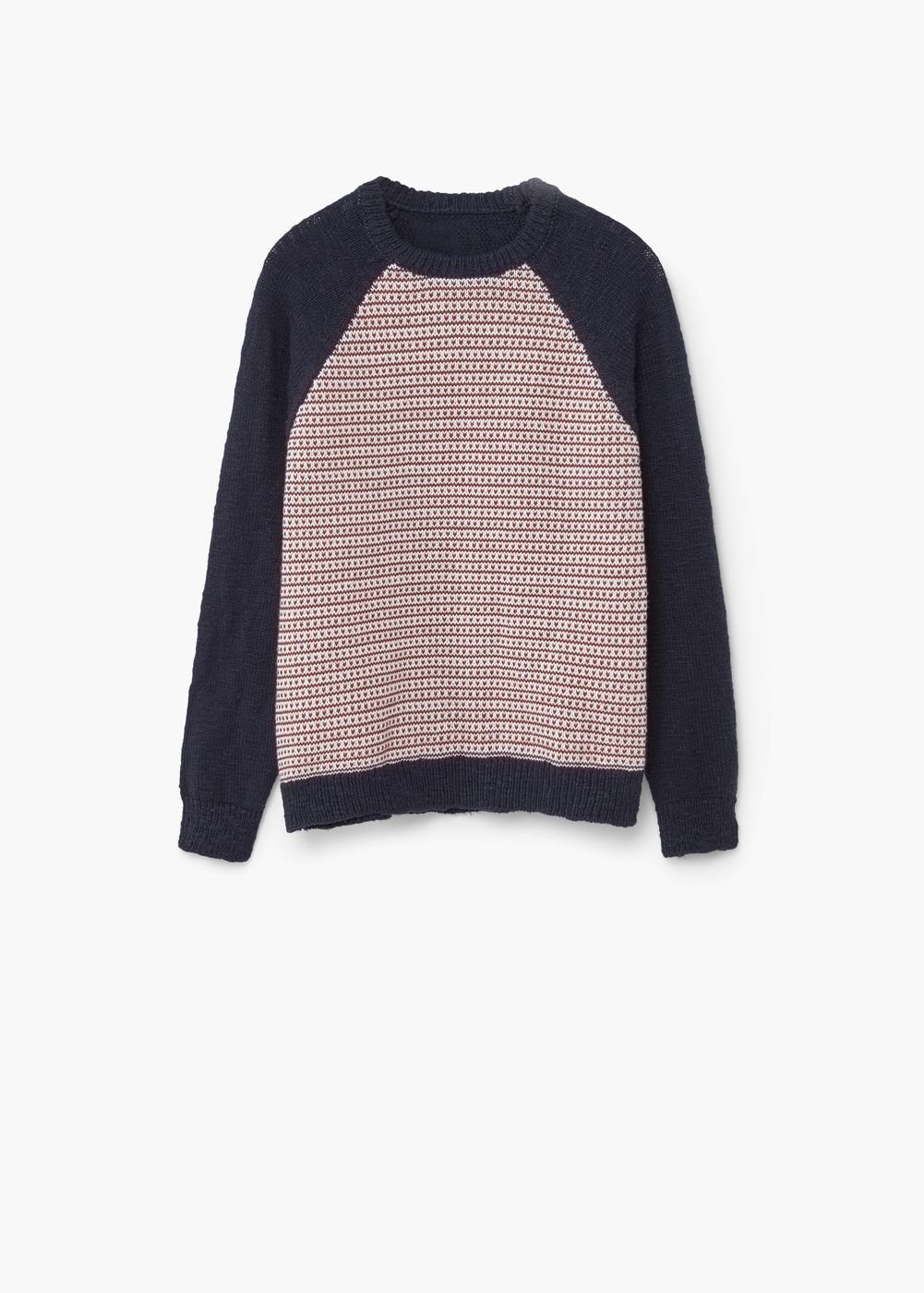 a70d3ae3a Elbow-patch cotton sweater