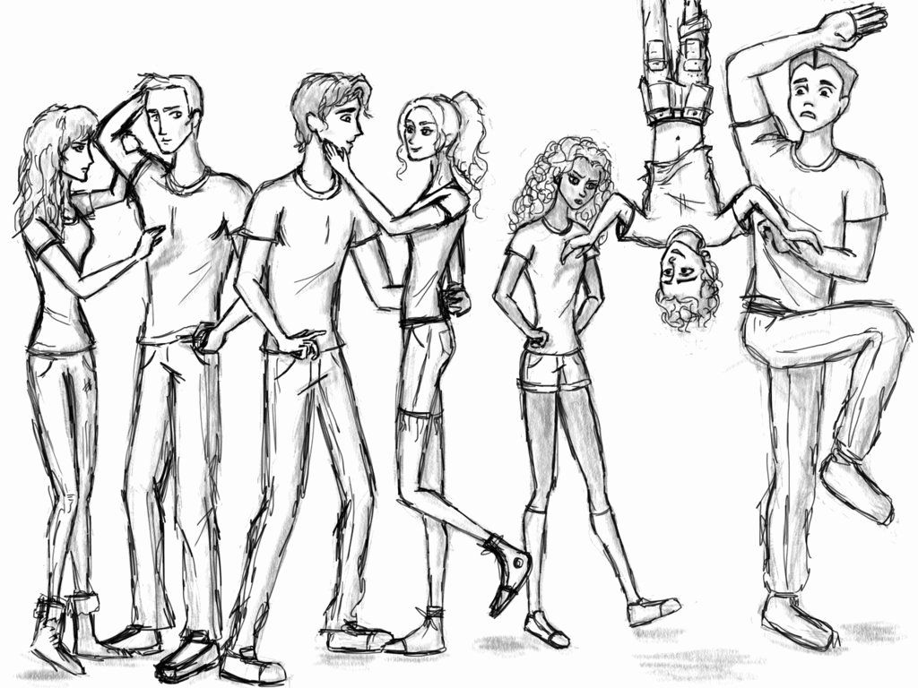 Percy Jackson Coloring Book Lovely Heroes Of Olympus Cloored By Larry And Lazel On Devianta In 2020 Percy Jackson Heroes Of Olympus Characters Percy Jackson Characters