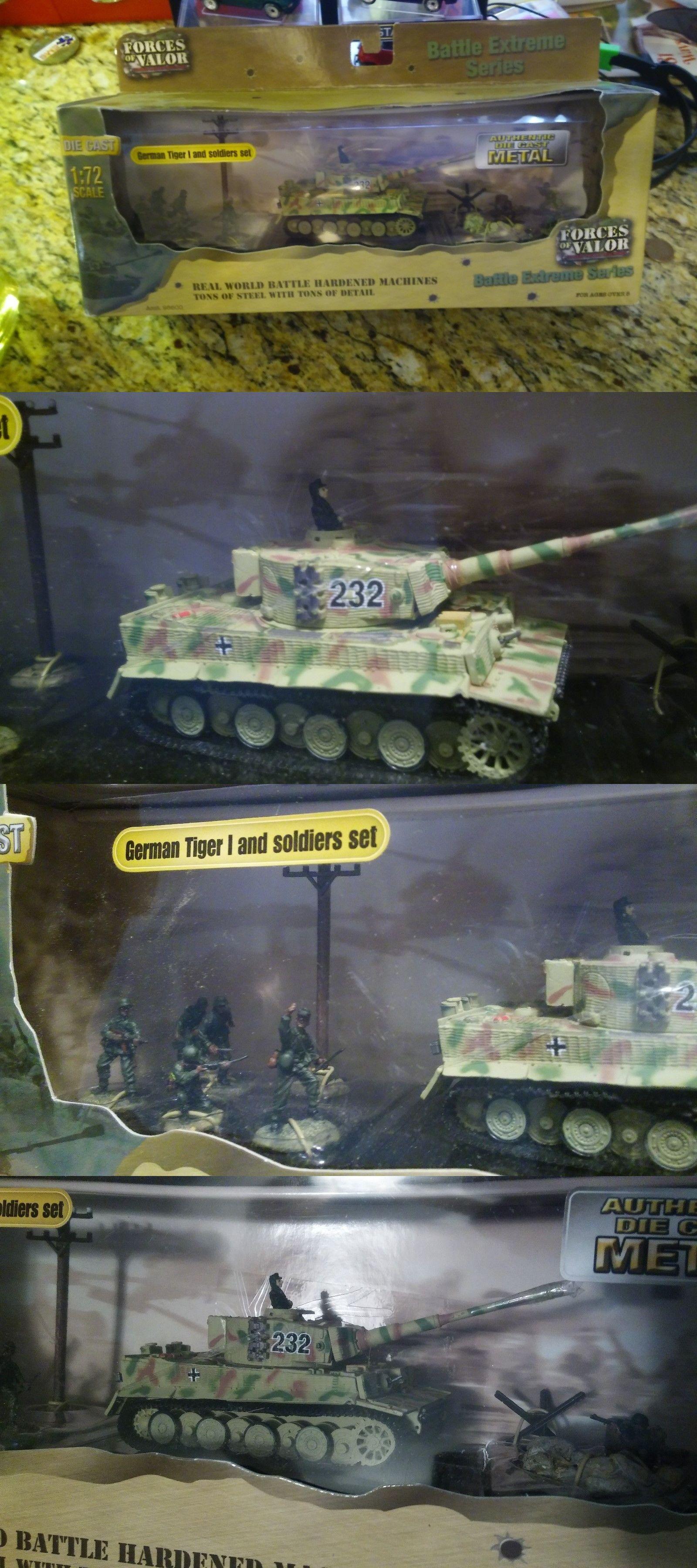 Forces Of Valor Unimax FOV Panzerkampfwagen V Panther Tank 1//72 Diecast Metal