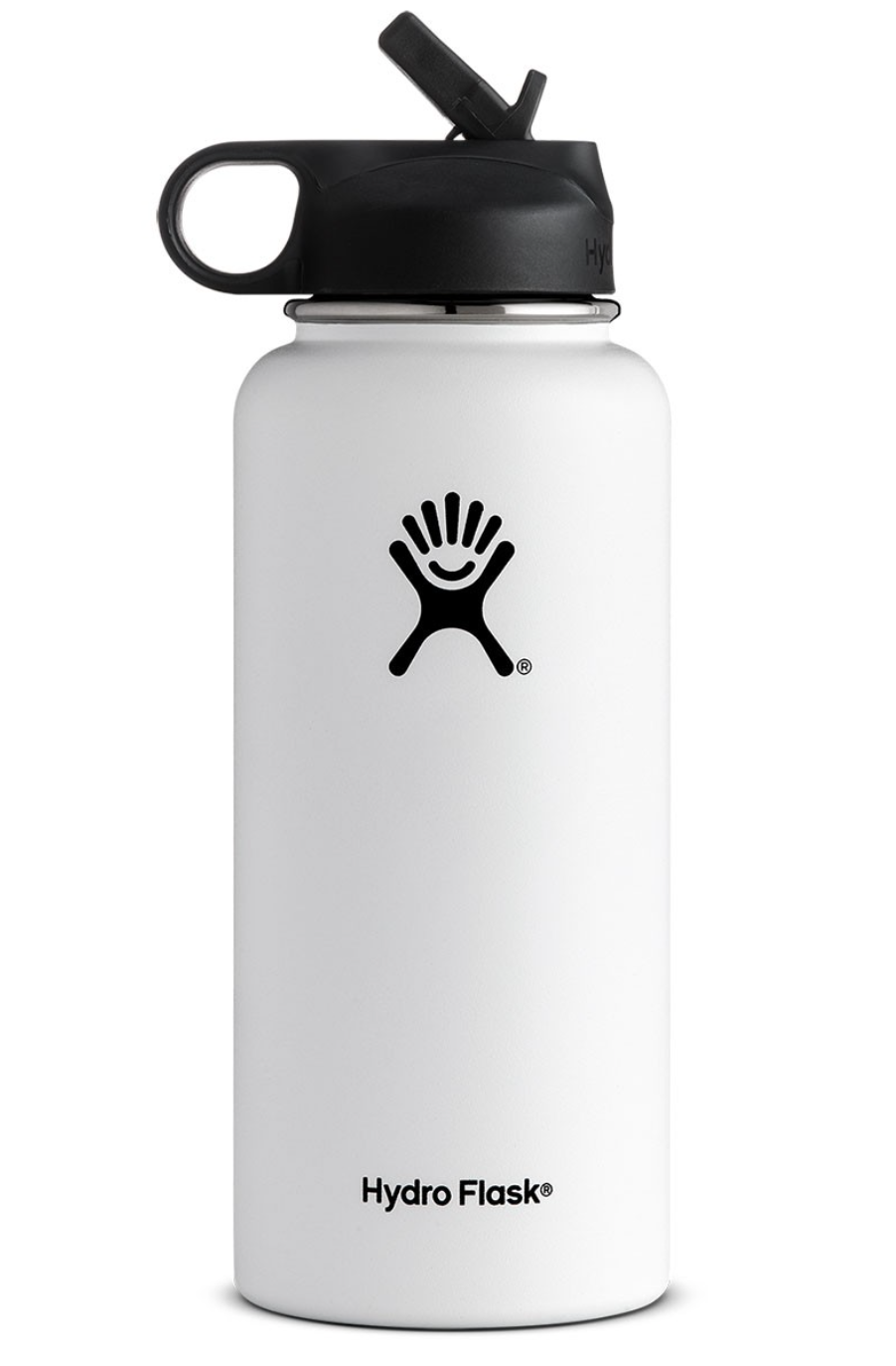 32 Oz Wide Mouth W Straw Lid Hydro Flask Water Bottle Hydro Flask Bottle Fancy Water Bottles