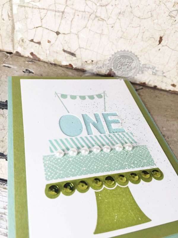 Build a Birthday stamp set, Stampin' Up!