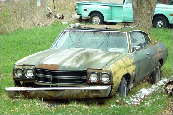 1970 Chevelle Abandoned Cars Barn Find Cars Chevelle