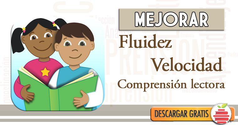 Ejercicios Y Lecturas Para Incrementar La Fluidez Volumen Y Comprensión Lectora Material Para Maestros Comprensión Lectora Comprensión Lectores