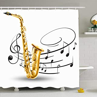 Amazon Com Music Note Shower Curtain Hooks Shower Curtain Hooks