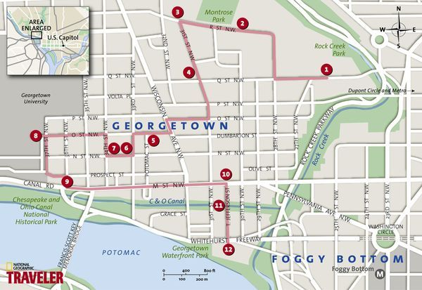 Georgetown Walking Tour Places To GoVacations Pinterest