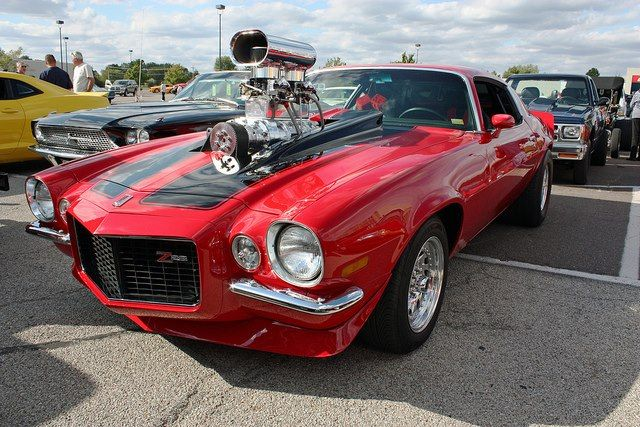 1970 Camaro With Supercharger Blower Things I Like Pinterest