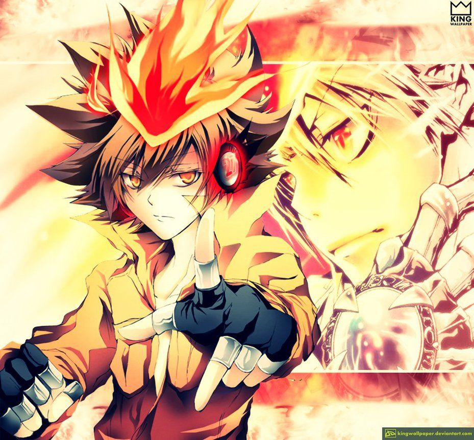 Pin By Jessica On Tsuna The 10th Generation Vongola Boss And