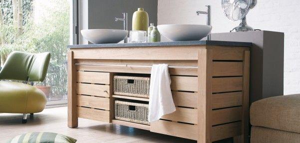 images about natural bathroom designs on, teak bathroom furniture uk