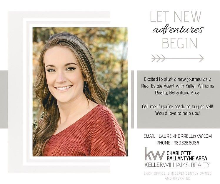 Lauren Horrell On Instagram Excited To Announce My Affiliation With Keller Williams Real Real Estate Agent Marketing Real Estate Marketing Real Estate Agent