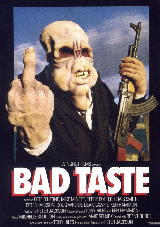 Risultati immagini per bad taste movie poster