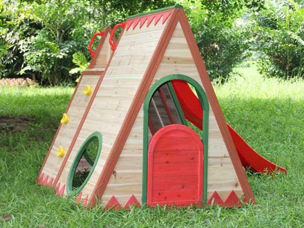 Casitas y fuertes de madera para niños. | Fuerte, Para niños y Madera