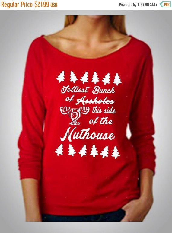 Ugly Christmas Sweater Jolliest Bunch This By Fierceclothing1