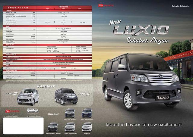 Brosur Daihatsu New Luxio