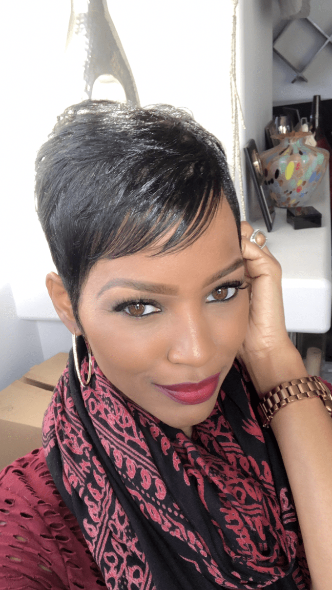 gorgeous short pixie hairstyles ideas for black women22 in