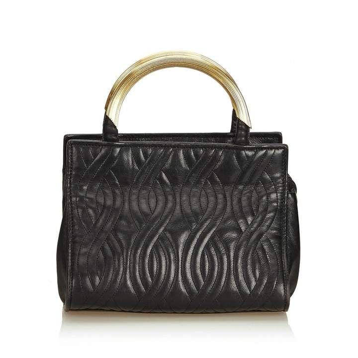 f4ec141b Leather handbag in 2019 | Purses | Black leather handbags, Leather ...