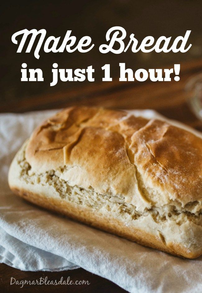 Easy Recipe: Bake Fast and Easy Bread in Just One Hour