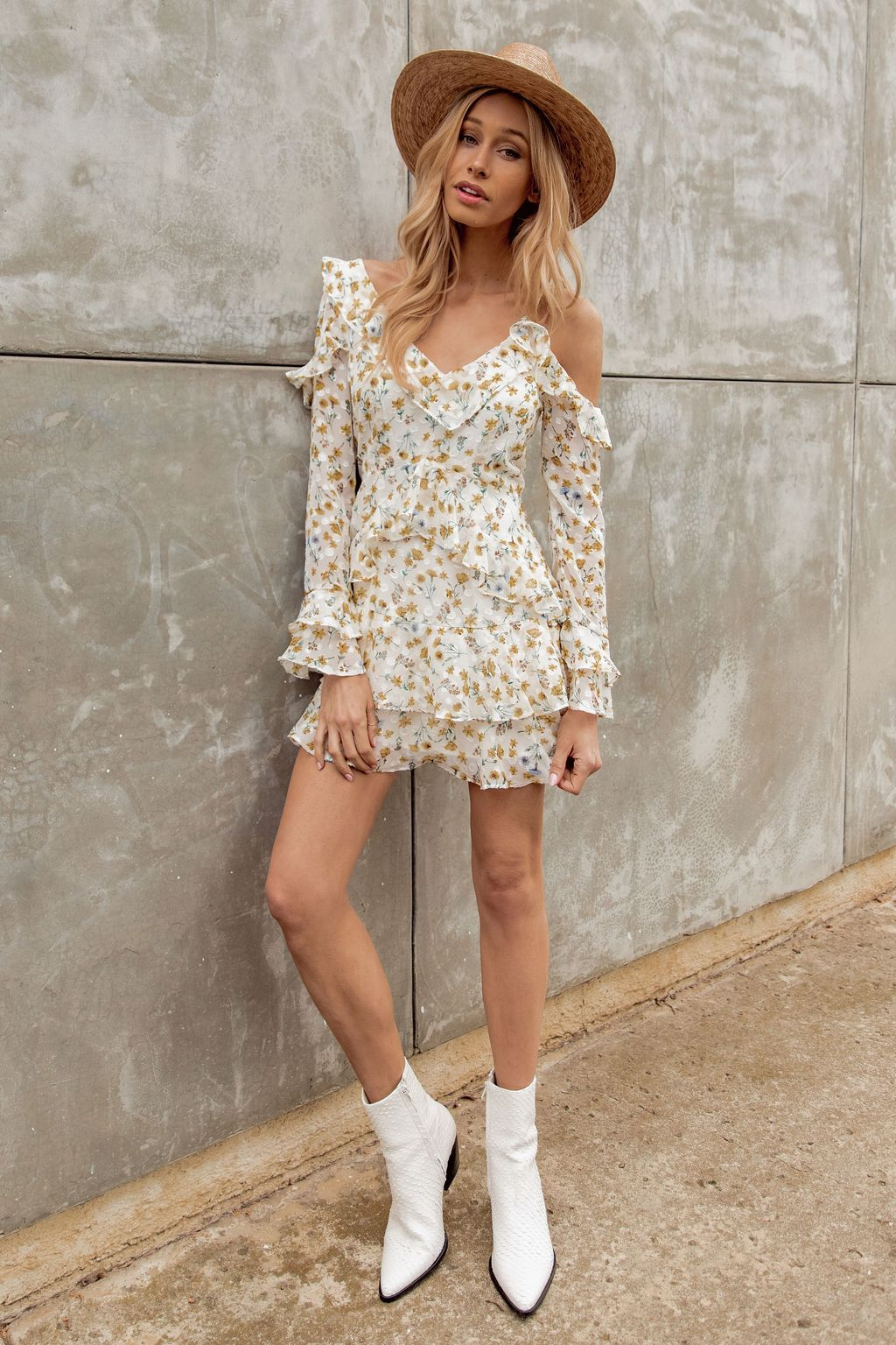 Rewind to Rome Floral Dress 12th Tribe Casual summer