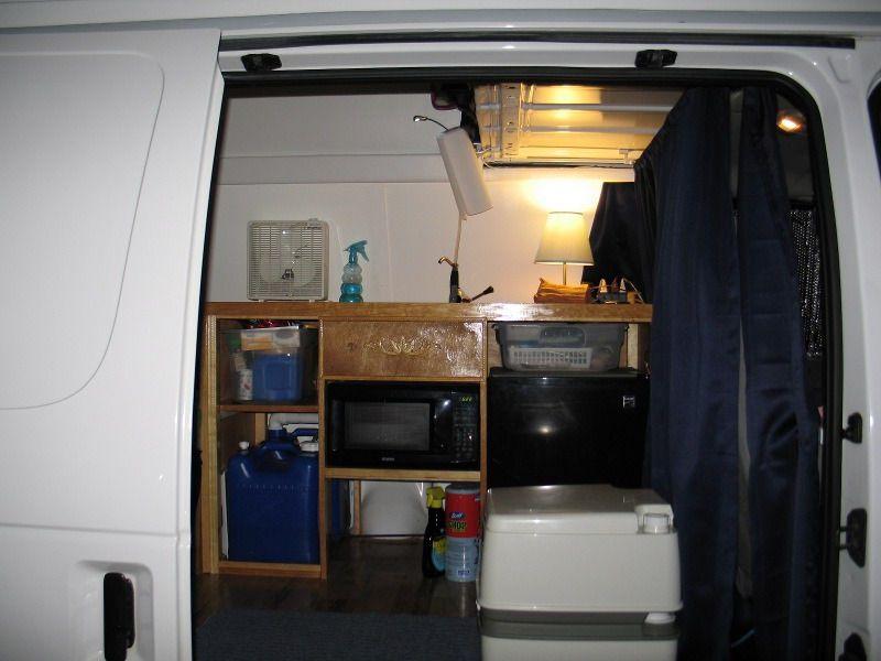 Cargo Van To Camper