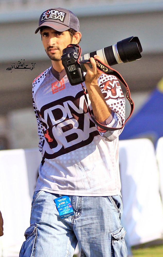 Hamdan bin Mohammed bin Rashid Al Maktoum, Skydive Dubai (06/12/2012). Photograph by Sultan Rayashi
