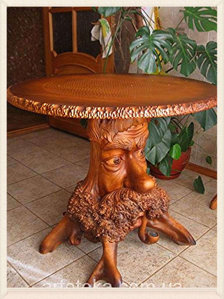 pingl par st phanie ellyton sur mobilier pinterest sculptures sur bois sculpture et bois. Black Bedroom Furniture Sets. Home Design Ideas