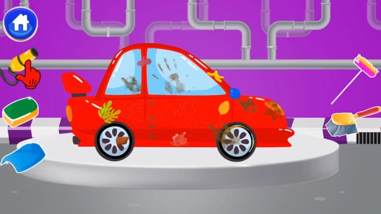 Super Car Wash Design Fun Cars Games For Kids