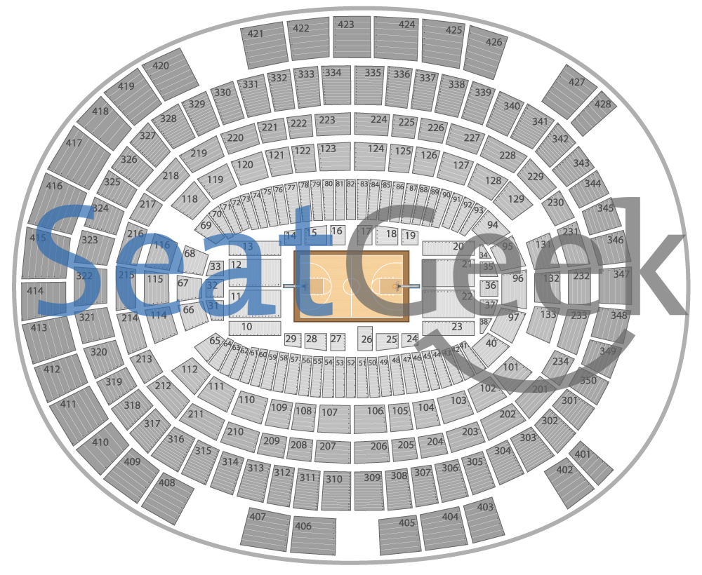 Madison Square Garden Seating Chart With Images Garden Seating Seating Charts Madison Square