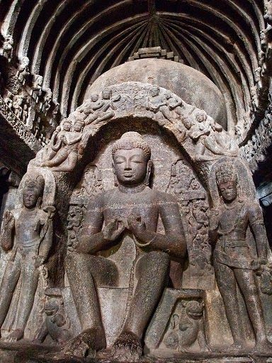 Mysterious Temples In World: The Mysterious Ajanta Caves ~ Mysteries Of India