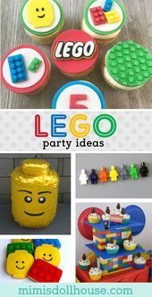 Lego Ideas for a Birthday Party: How to Build a Lego Party # Build … – #birthd…