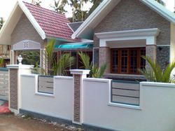 Image Result For Screen And Gate Brick Home House Plans Pinterest Walls  Bricks Front Fence Also