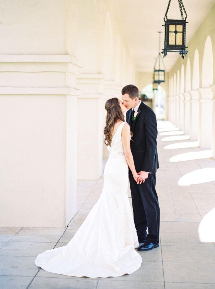 Elegant Royal Palms Resort Wedding By Melissa Jill Photography Resort Wedding Black Tie Wedding Elegant Couple