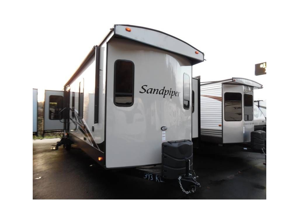 Check Out This 2016 Forest River Sandpiper Destination 393rl