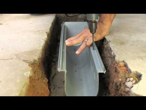 Como hacer un desague para aguas lluvias youtube ideas for Como eliminar cucarachas del desague