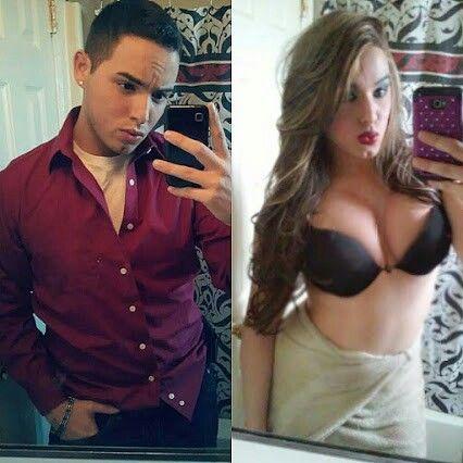 женщина транс трахает мужчину