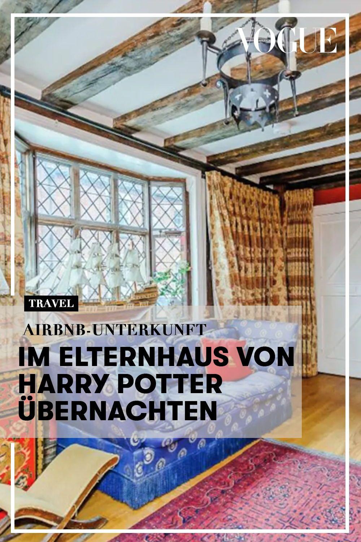 Airbnb Unterkunft Im Elternhaus Von Harry Potter Ubernachten Elternhaus Unterkunft Haus