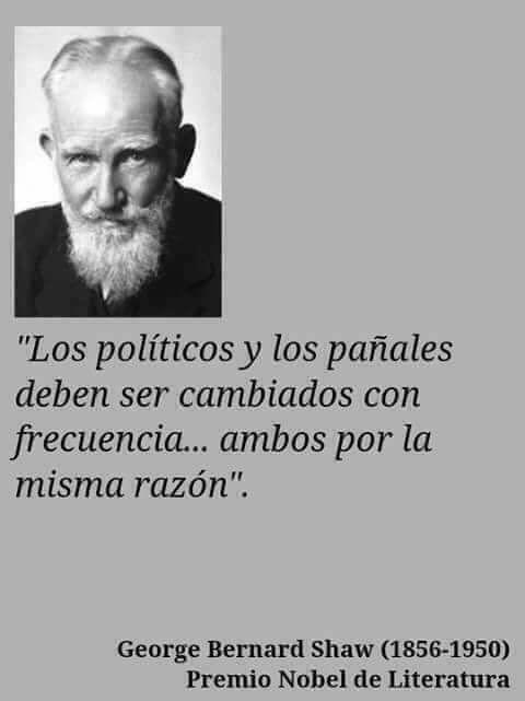 George Bernard Shaw Citas Políticas Frases Motivadoras Y