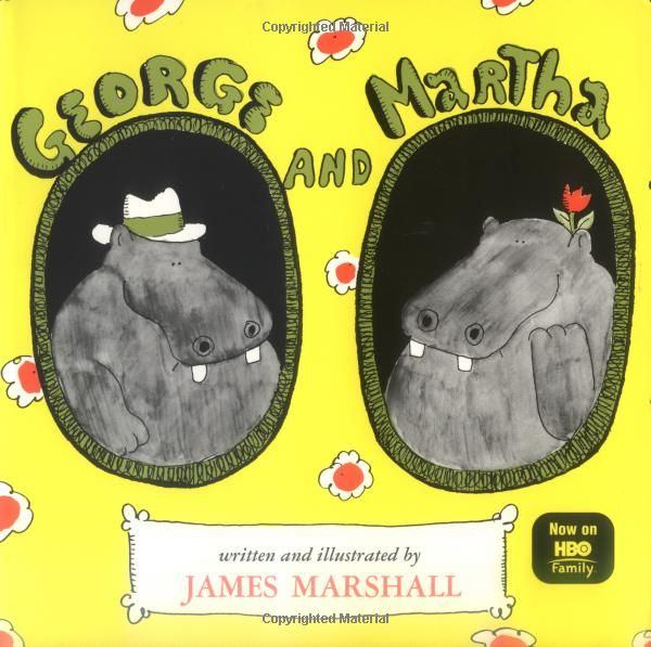 George and Martha (the series): James Marshall