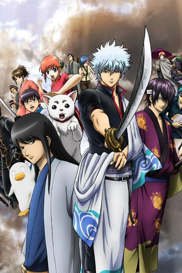 Gintama Hd Wallpapers And Backgrounds Anime Gintama Wallpaper Anime Images