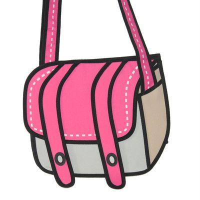 Free shipping 3d cartoon shoulder bag