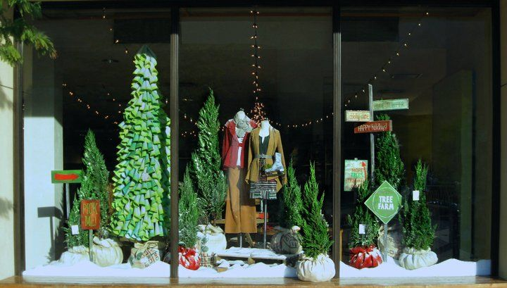 Anthropologie Christmas Window Displays | ANTHROPOLOGIE CHRISTMAS WINDOW…