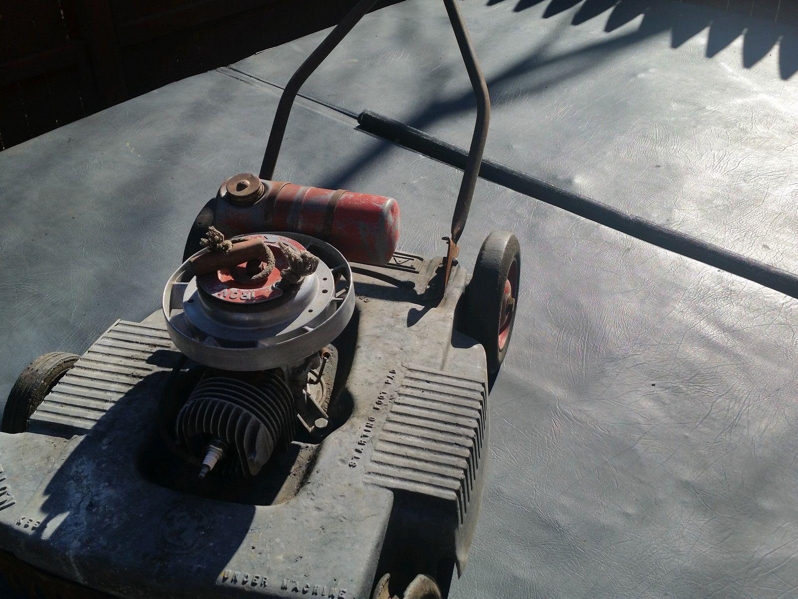 Lawn Boy Model Number 8fh10 Two Stroke Push Mower Ebay