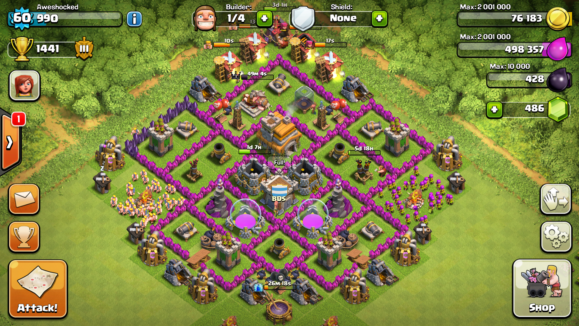 Level 7 Town Hall Hybrid Base Google Search Clash Of Clans Clash Of Clans Levels Clash Of Clans Hack