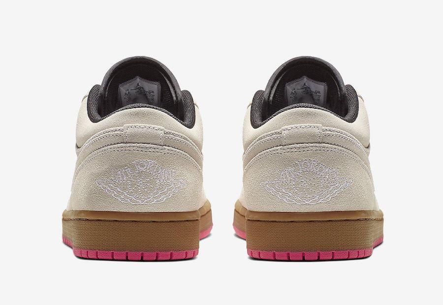Air Jordan 1 Low Beige Pink 553558-119